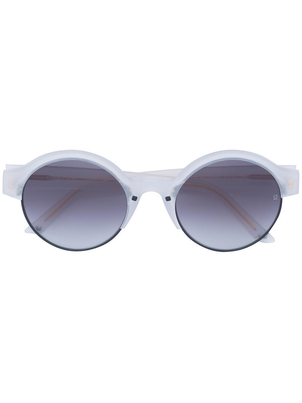 bf52867999 Lyst - Osklen Tarsila Collection Sunglasses in Gray