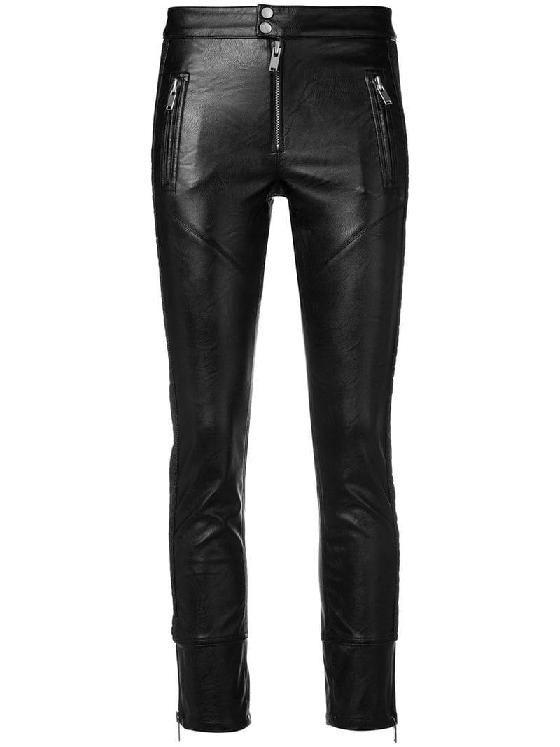 55603e98c93ef Lyst - Pantalon Zaperry Étoile Isabel Marant en coloris Noir - 1 ...