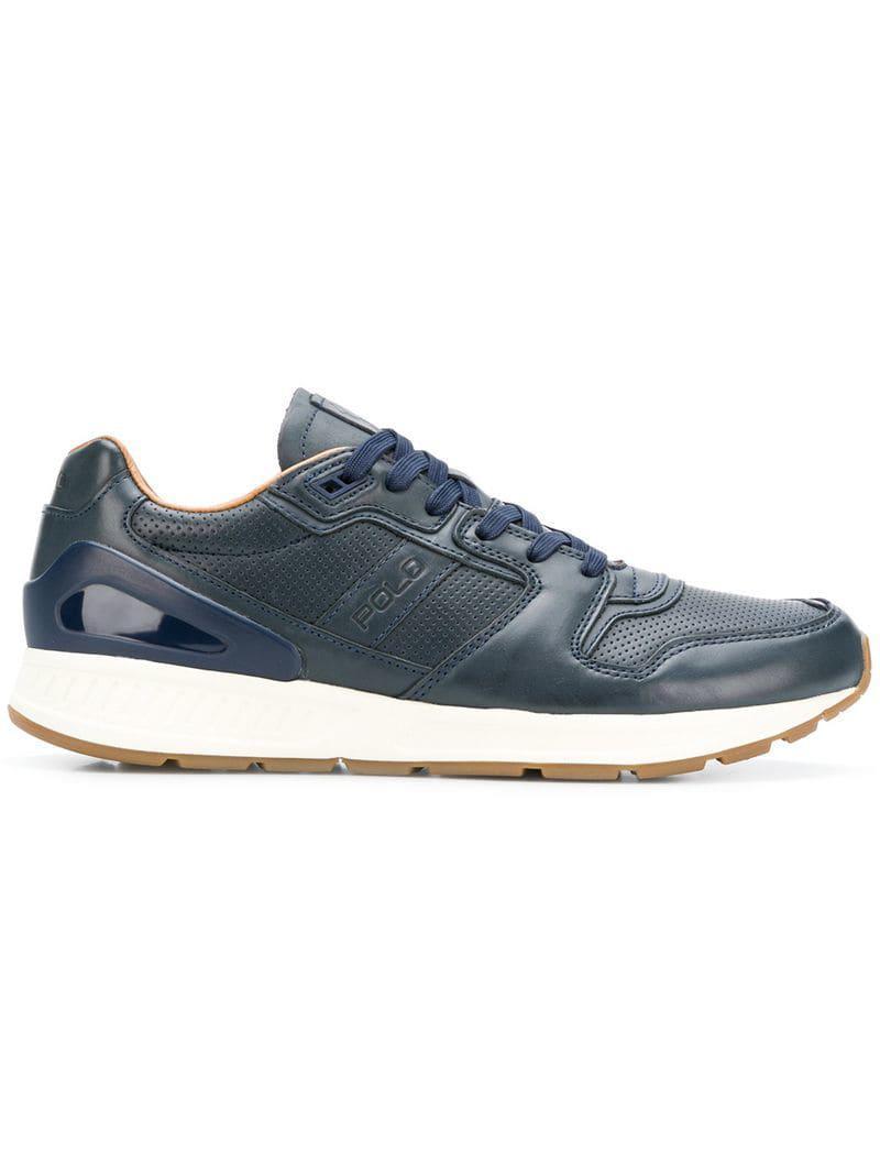 b35d0607a6f6e7 Lyst - Polo Ralph Lauren Train100 Sneakers in Blue for Men