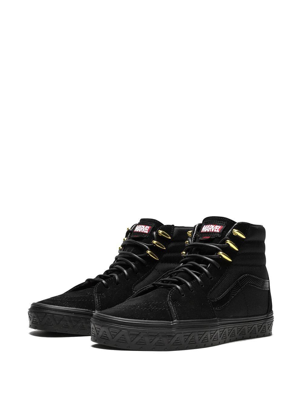 e3329a6614e6d0 Lyst - Vans X Marvel Sk8-hi Sneakers in Black for Men