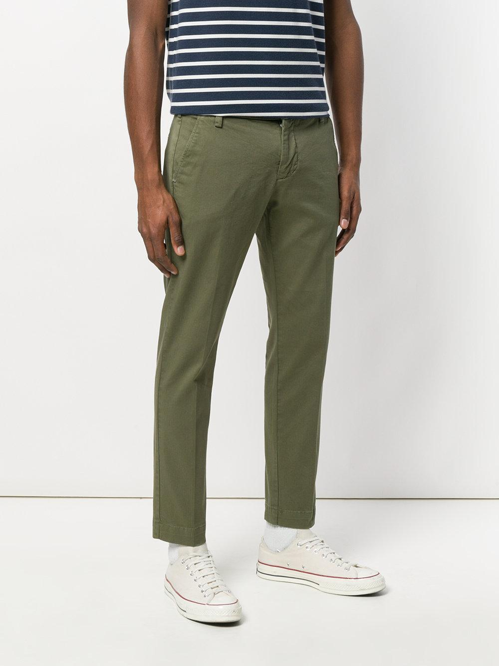 straight trousers - Green Entre Amis rM7k5H9k