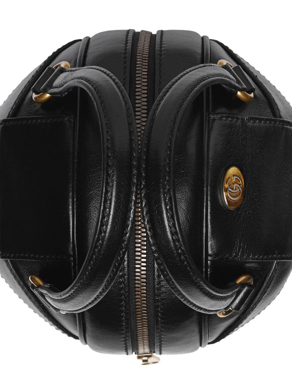 965a77b70b6 Gucci - Black Basketball Shaped Mini Shoulder Bag - Lyst. View fullscreen
