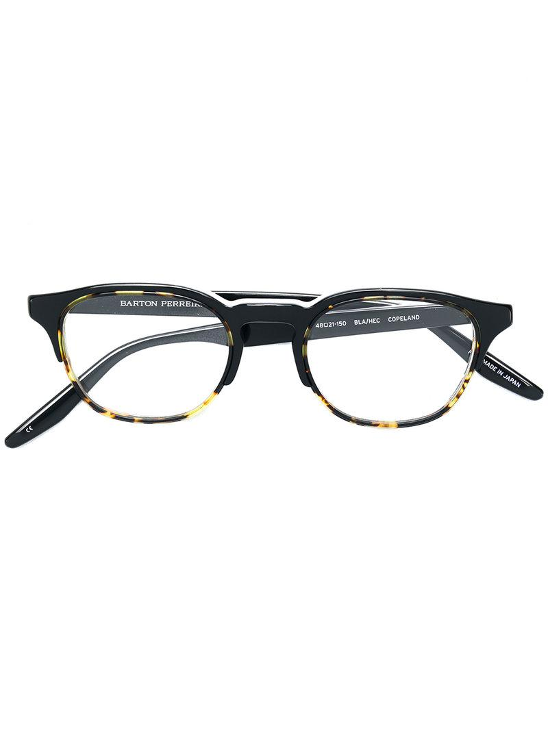 Buy Cheap Get Authentic Barton Perreira Copeland round frame glasses Classic Cheap Online New Arrival Cheap Price rdWhzxO