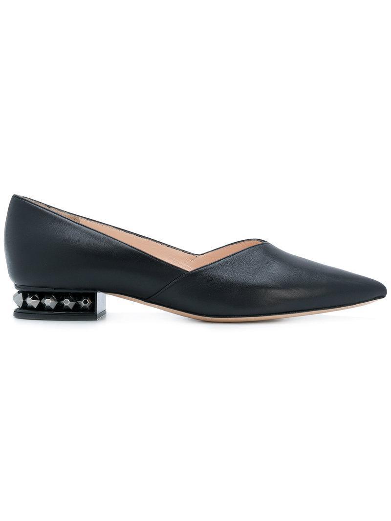 Comprar En Línea Nueva Suzi Derby shoes - Nero Nicholas Kirkwood Comprar Barato Explorar CIA3f