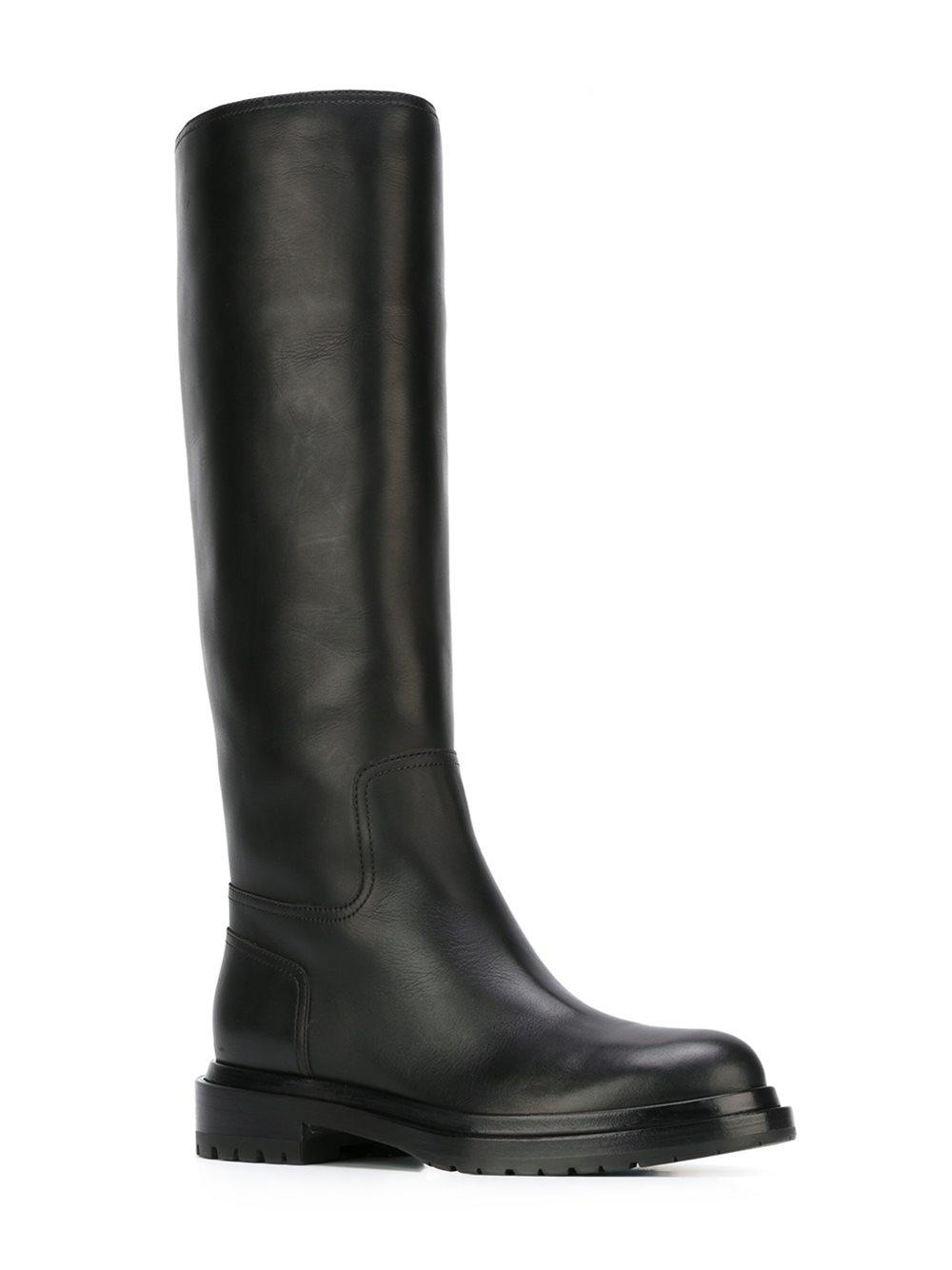 Sergio Rossi Chunky low heel boots z1rPyj2Pv