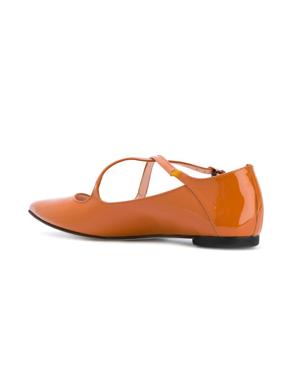 Repetto A Ballerines - Jaune Et Orange HMNFBwtVw