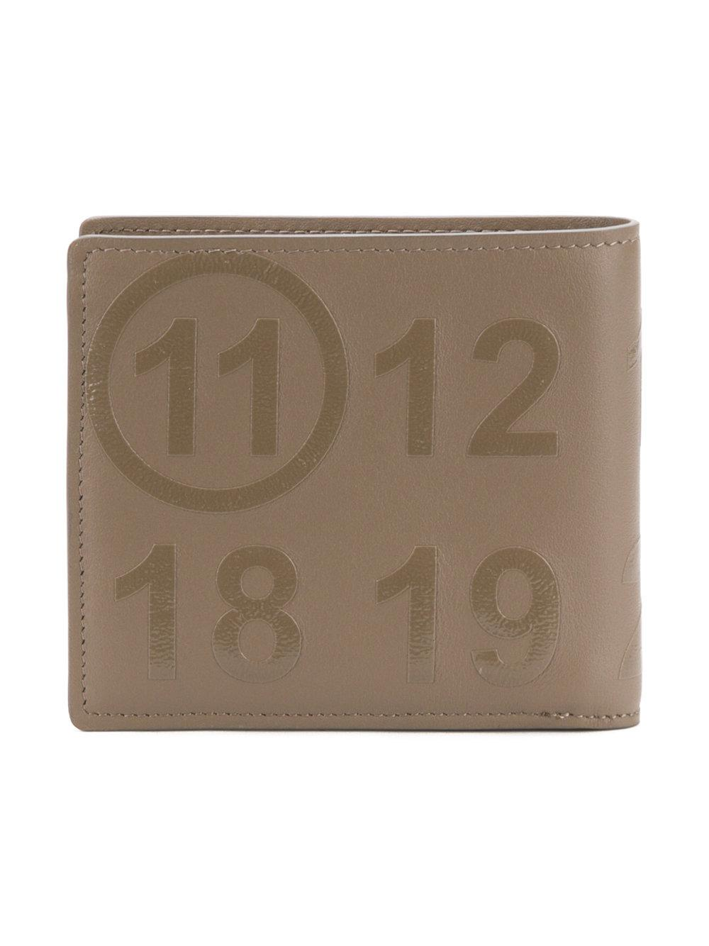 Maison Margiela Printed Digits Wallets in Natural for Men - Lyst f45e948d27