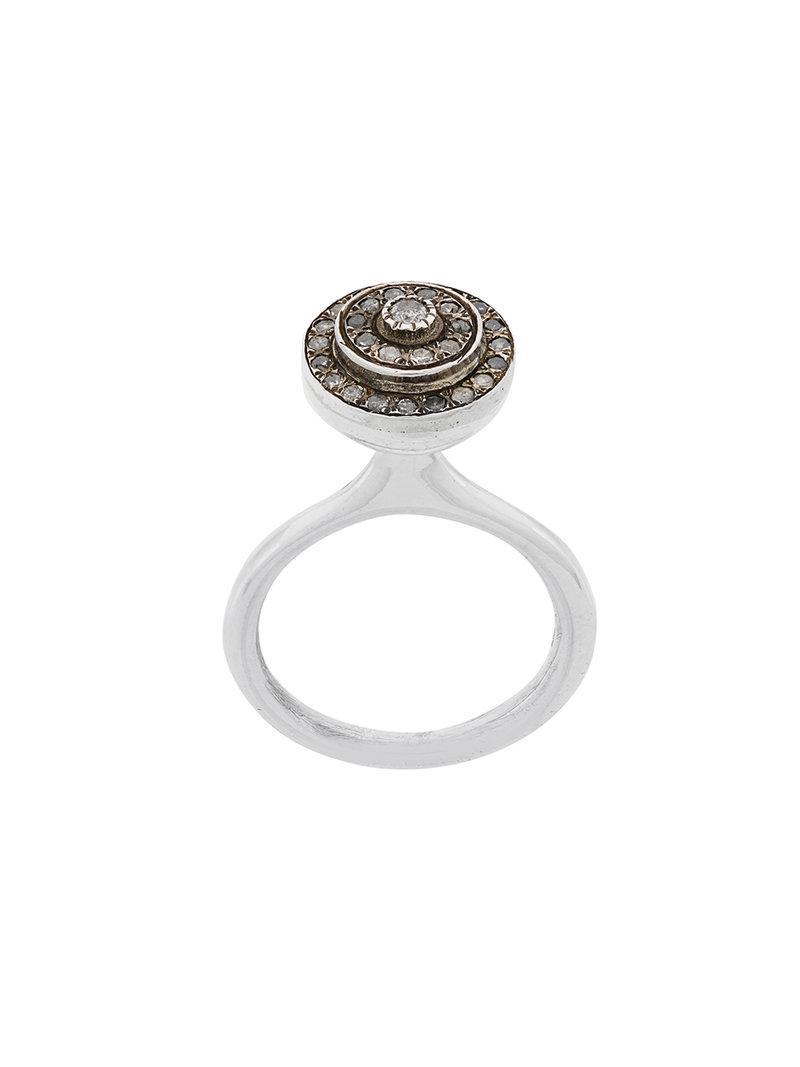 Rosa Maria Monard ring - Metallic z0h3u1zqBm