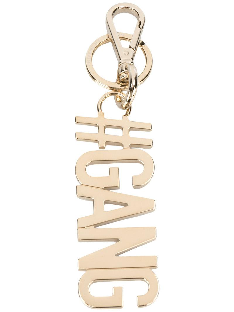 Givenchy Keyring in Metallics