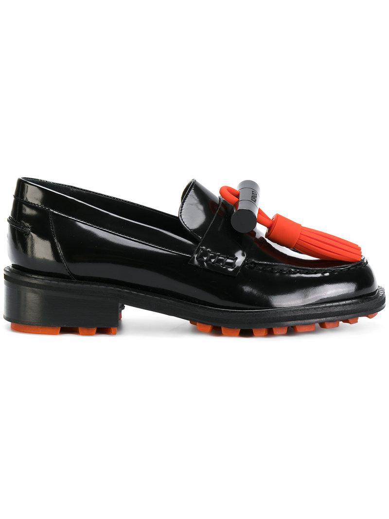 43a23389164 Kenzo Georgia Loafers in Black - Lyst