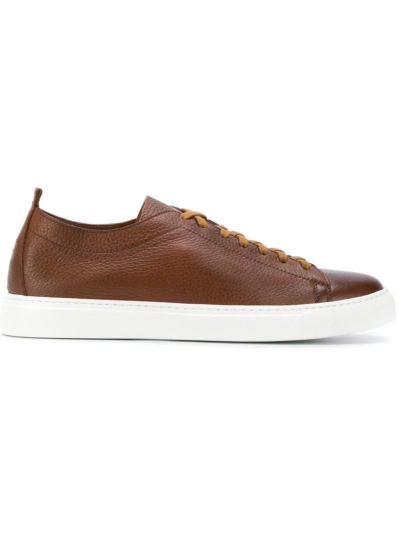 HENDERSON BARACCOSneakers Charlie leather