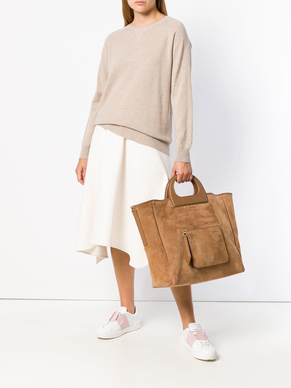 f900cfe7b Max Mara Classic Tote Bag in Brown - Lyst