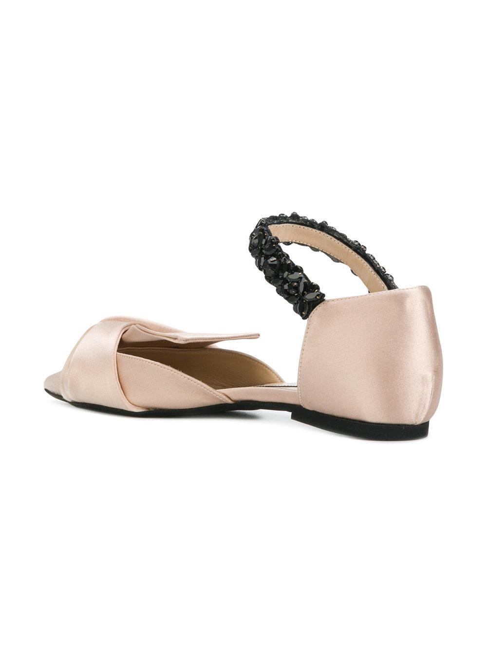 No21 Pointed toe ballerinas WdH2J