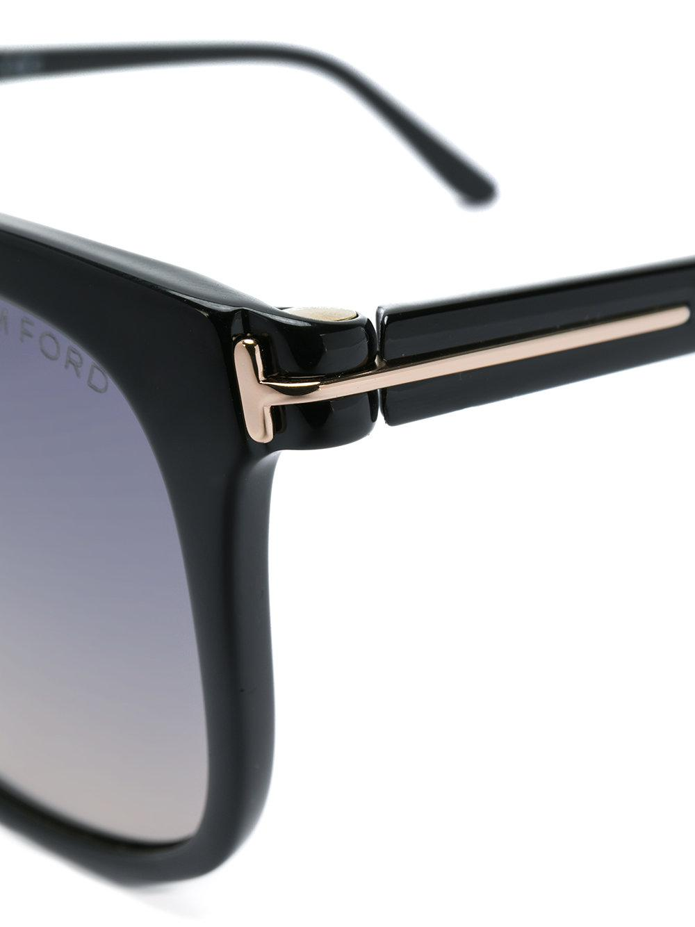 883d99ab2a0 Lyst - Tom Ford Fiona 02 Sunglasses in Black