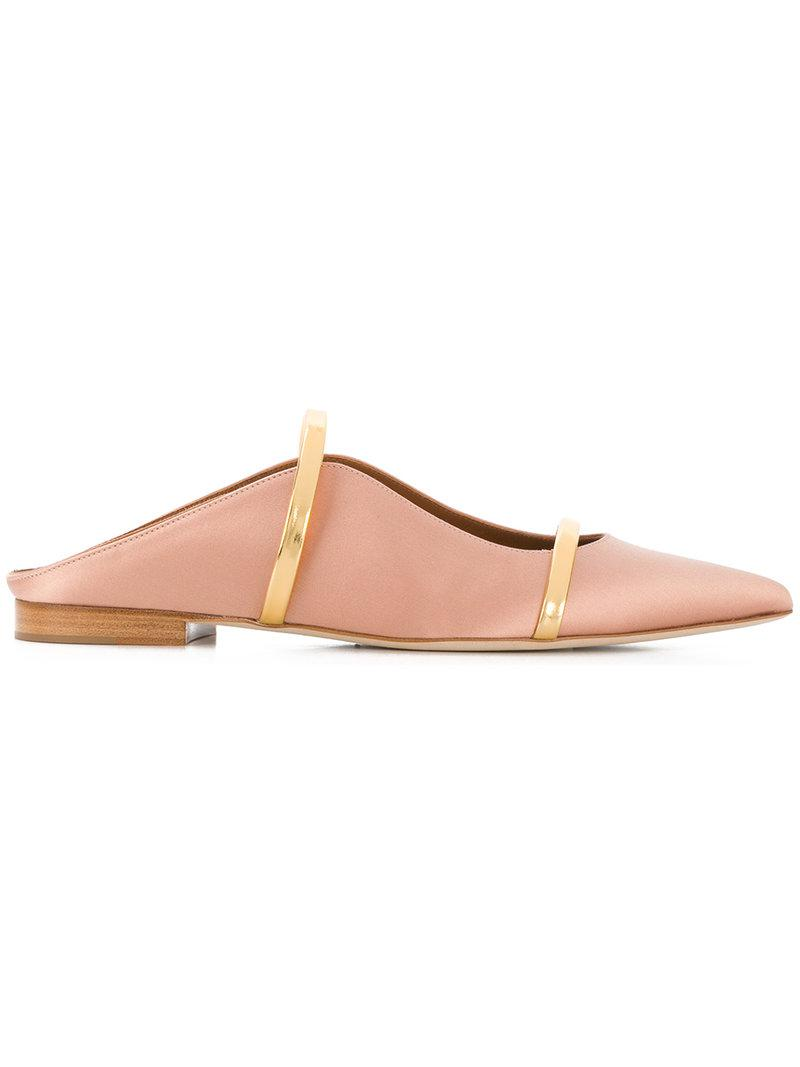 MALONE SOULIERS Maureene pointed strap mules SGRaPI