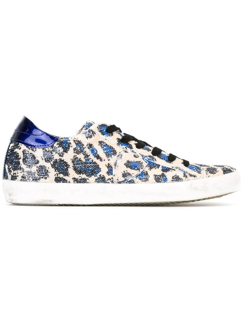 hot sale online 0bcbf 3ff0c philippe-model-Blue-Sequin-Leopard-Print-Sneakers.jpeg