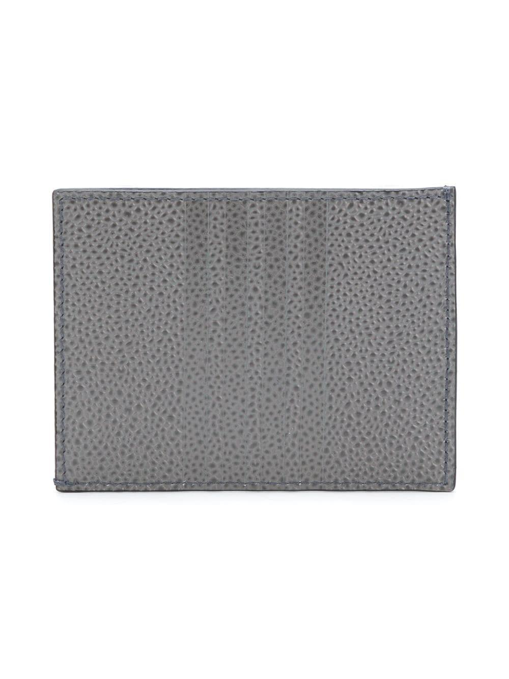 a9124e4012 Thom Browne 4-bar Edge Stain Note Cardholder in Gray for Men - Save 19% -  Lyst