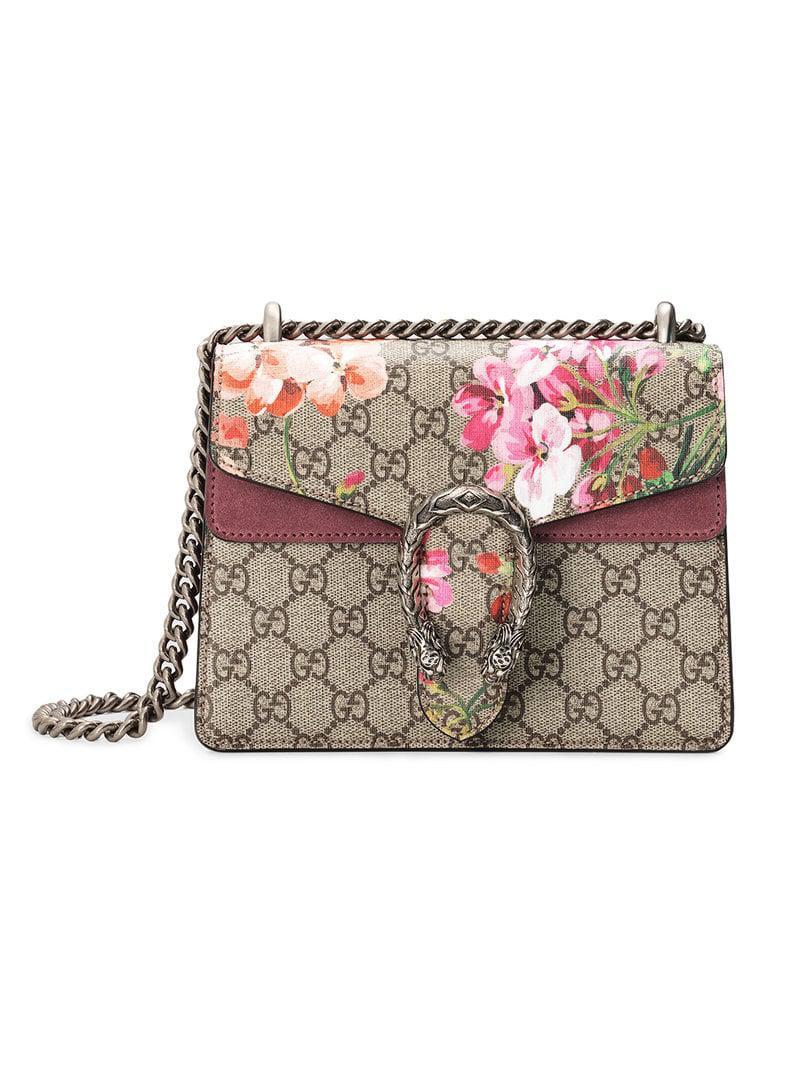 a00906a26d6191 Gucci Dionysus GG Blooms Mini Bag - Save 2% - Lyst