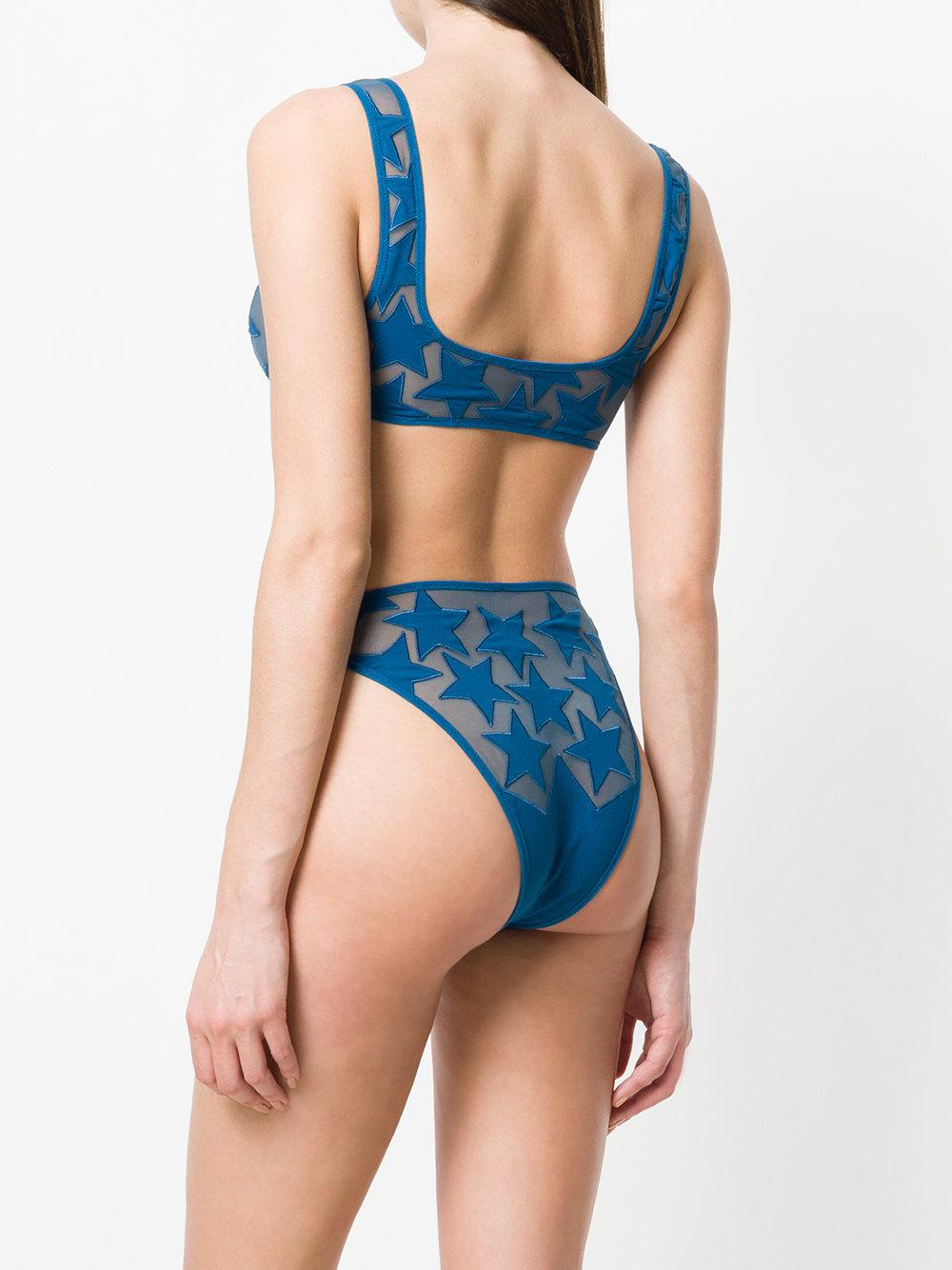 5a194ca7d0ef3 Sian Swimwear - Blue Zendaya Bikini - Lyst. View fullscreen