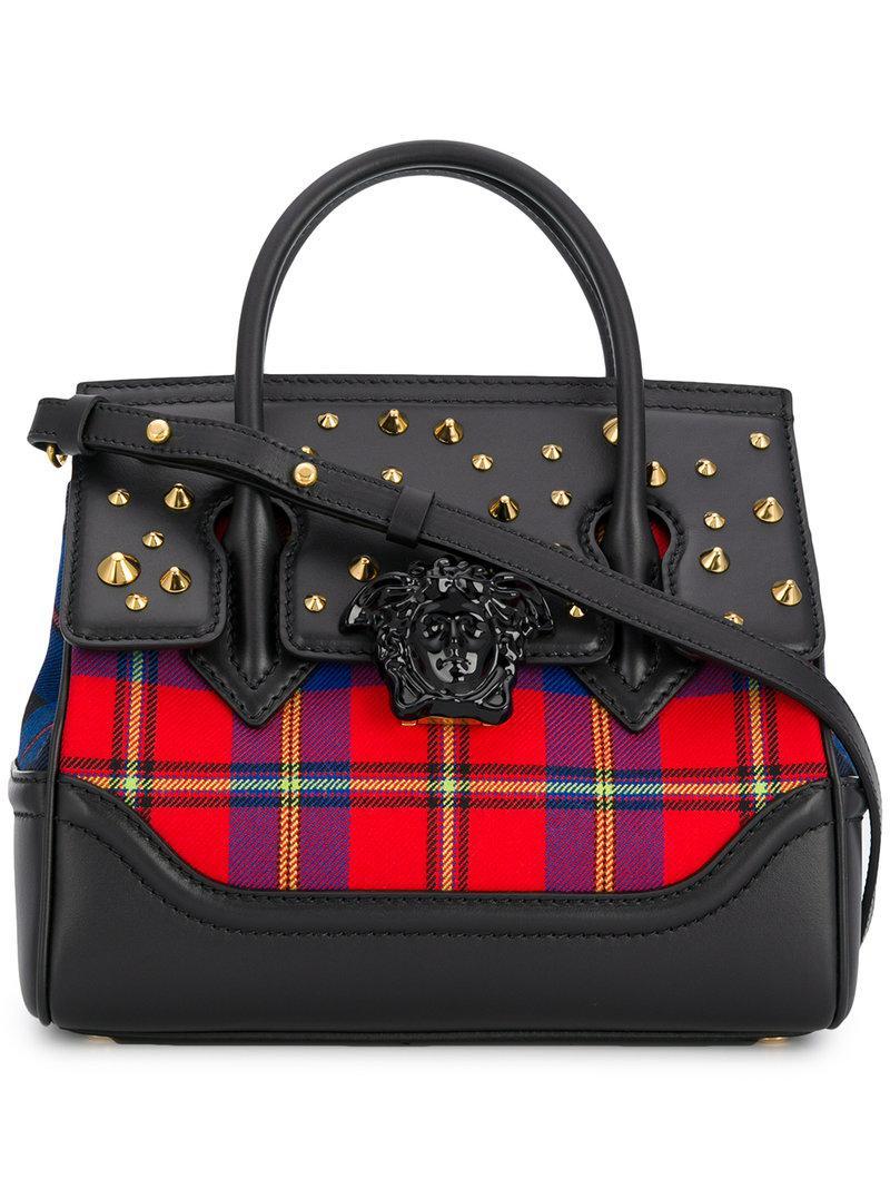 e1c2733dbe55 Versace Palazzo Empire Tote Bag in Black - Lyst
