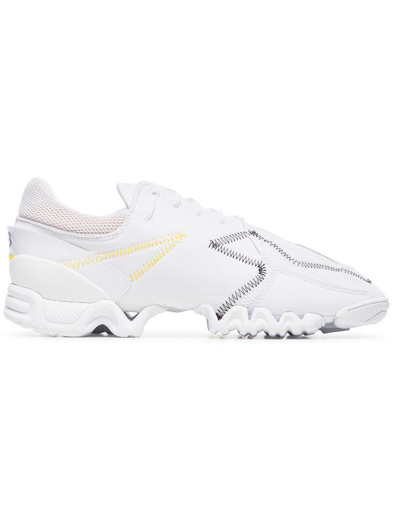 88bca595d559 Y-3  ekika  Sneakers in White for Men - Save 51% - Lyst
