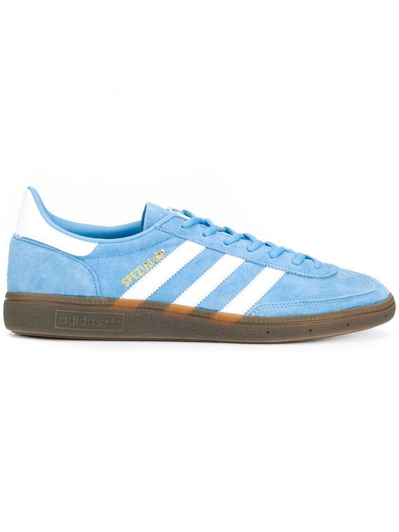 8861021ba7ad Adidas - Blue Handball Spezial Sneakers for Men - Lyst. View fullscreen