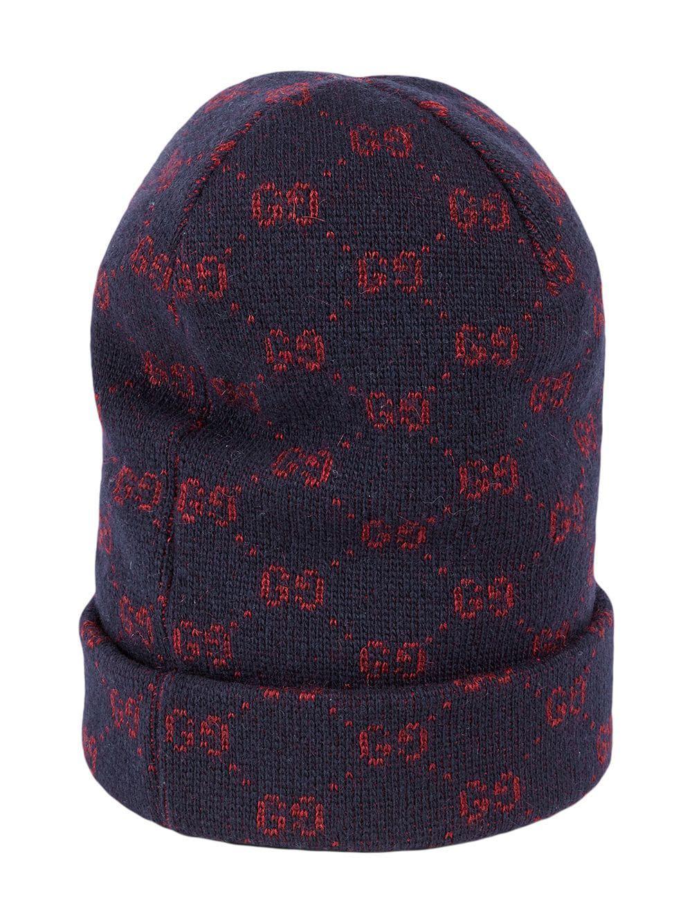 90221b957a15a Gucci - Blue GG Alpaca Wool Hat for Men - Lyst. View fullscreen