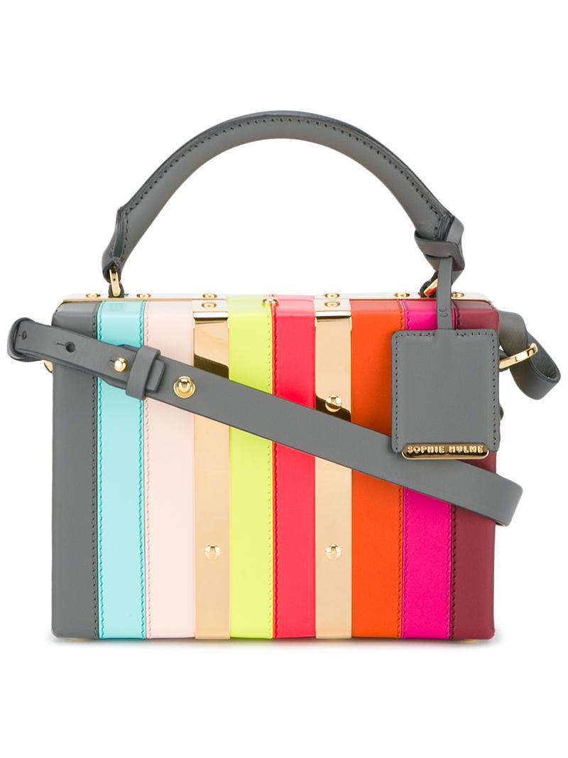 fd7b5dbea Lyst - Sophie Hulme Albion Box Cross-body Bag - Save 17%