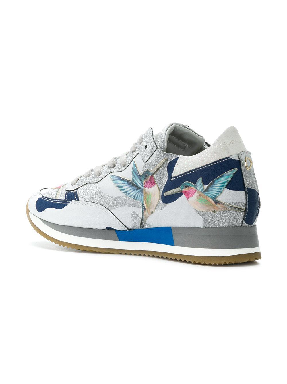 hummingbird sneakers - Metallic Philippe Model MOm2xqvu