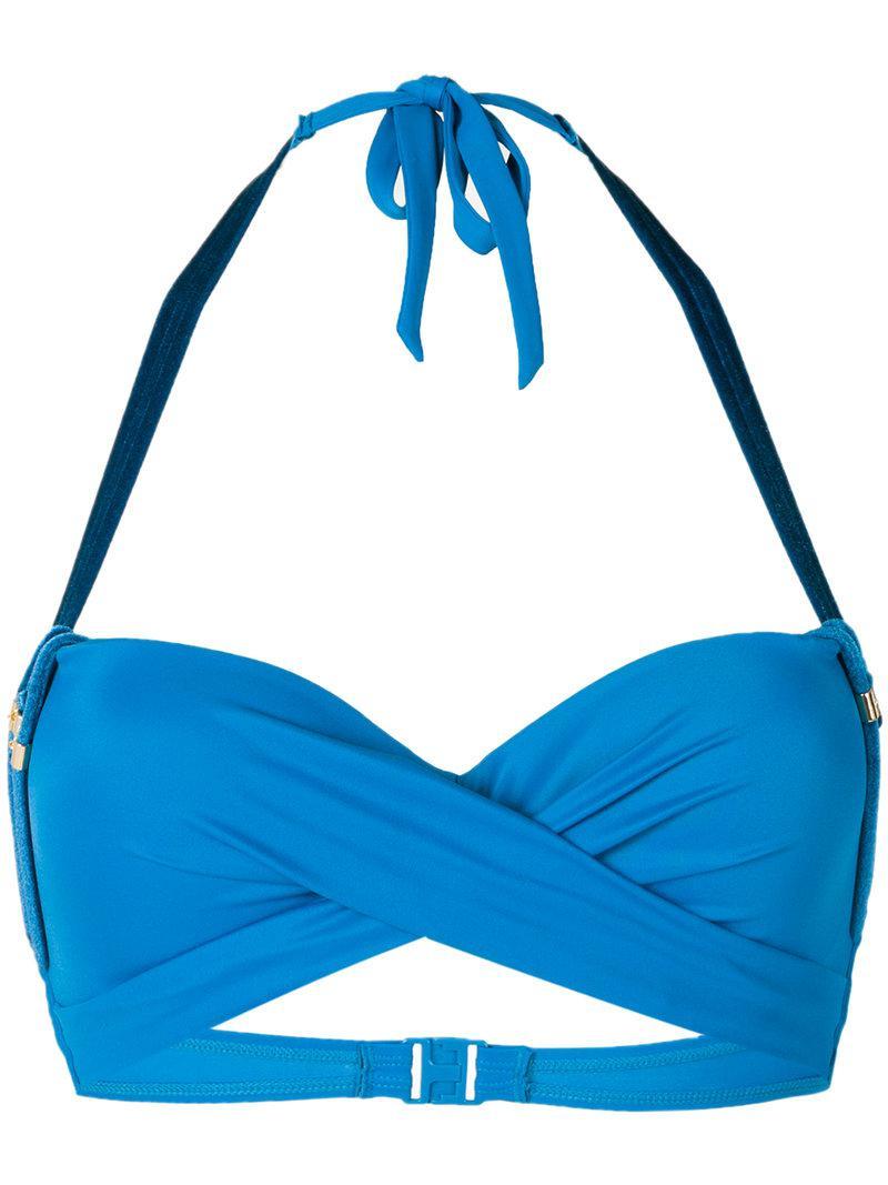 Many Kinds Of Cheap Price Kiss deep plunge bikini top - Blue Marlies Dekkers Deals Cheap Online Best Buy Sale Low Price Buy Cheap Original GidkM