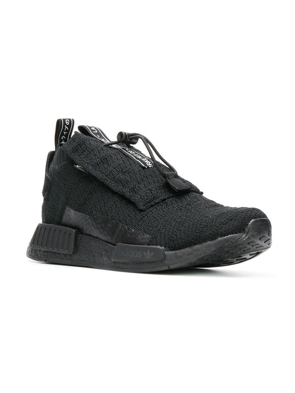 12374ad684b5d Lyst - adidas Black Nmd Ts1 Pk Gore-tex Primeknit Sneakers in Black for Men