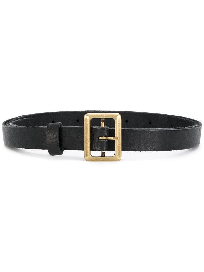 buckled belt - Black Forte_Forte tdHsvi8WH