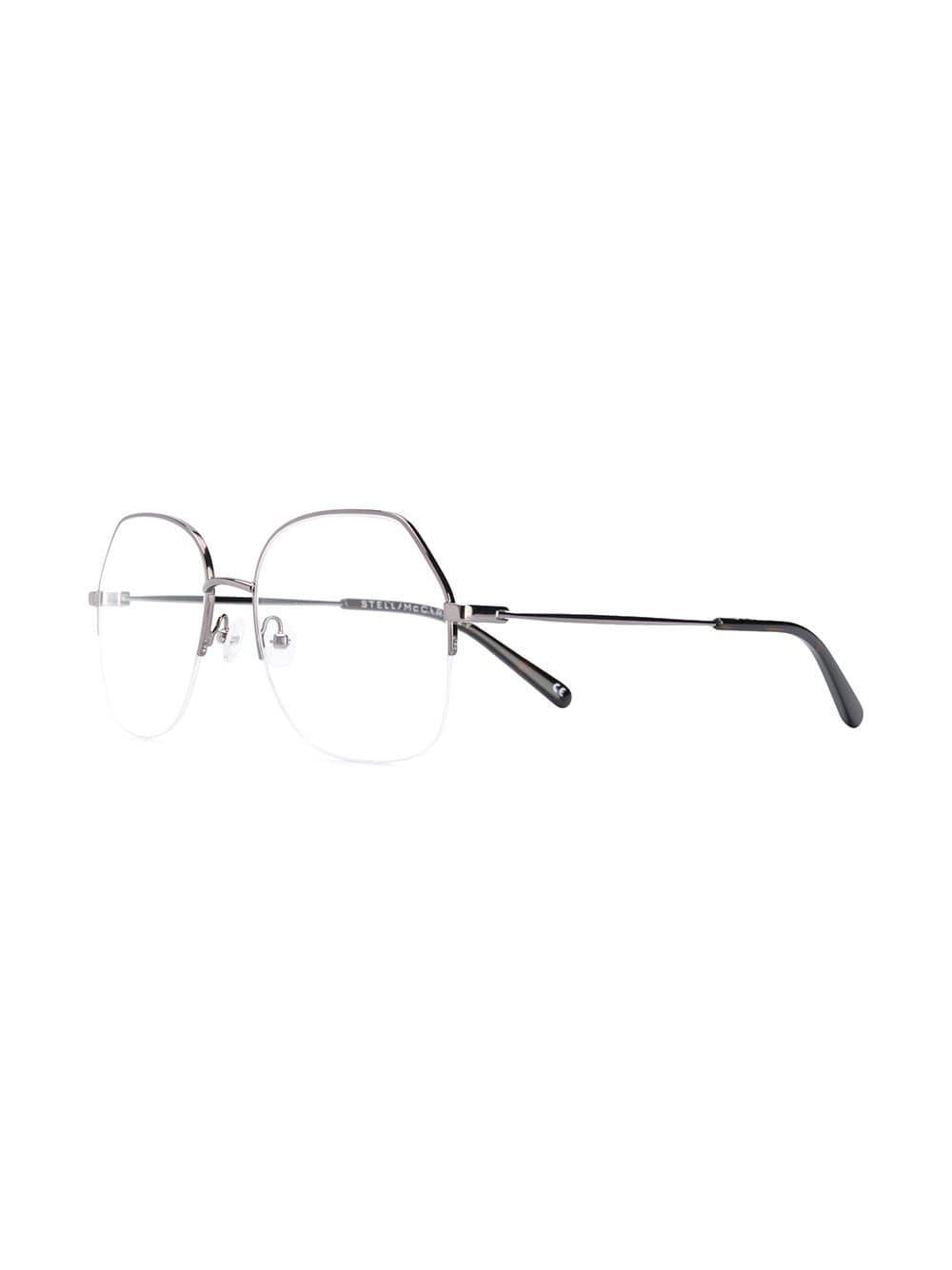 Frame Lyst Half Eyeglasses Mccartney In Stella Black UpqMzVSG