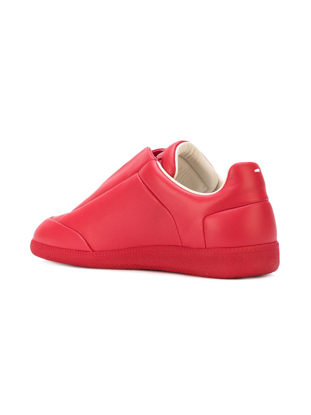 foldover top sneakers - Red Maison Martin Margiela EYn0f