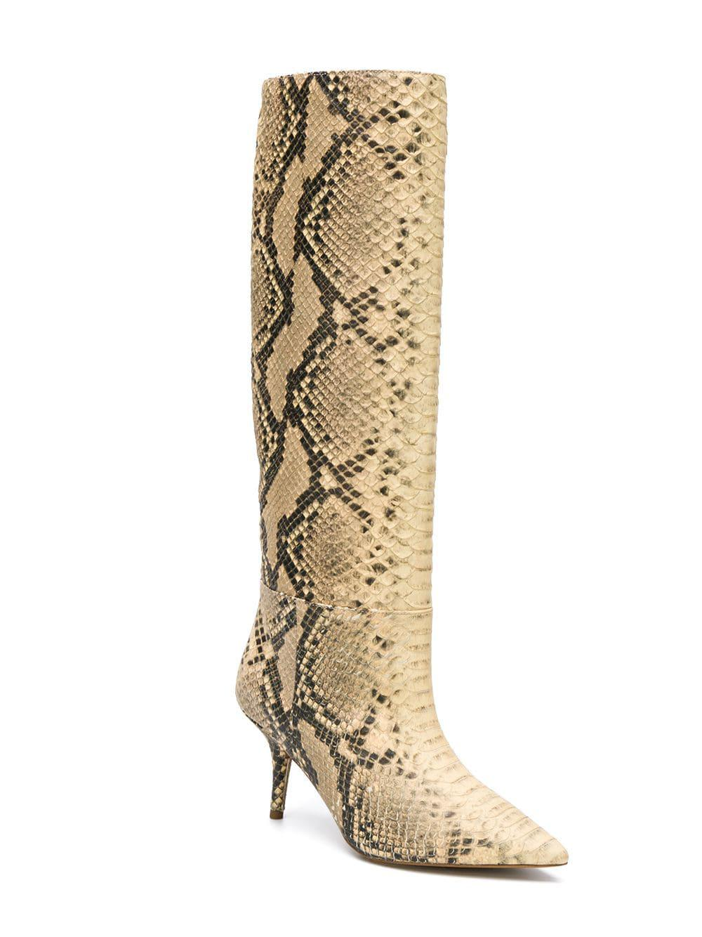 2ab1ee9bf282 Lyst - Yeezy Snake Effect Mid-calf Boots - Save 28%