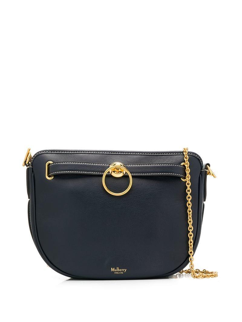 c23b3292b26 Lyst - Mulberry Brockwell Cross Body Bag in Blue - Save 2%