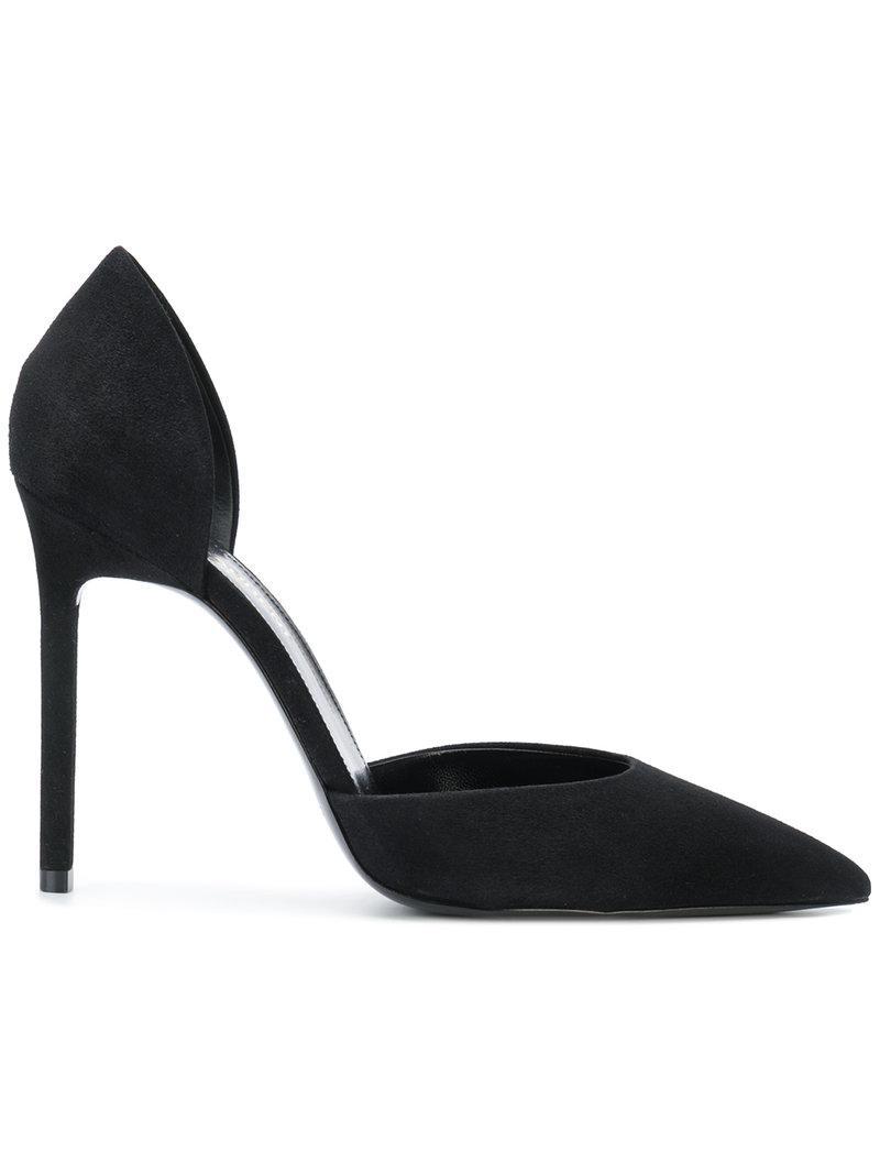 Anja pointed toe pumps - Black Saint Laurent HUlyW5DCV