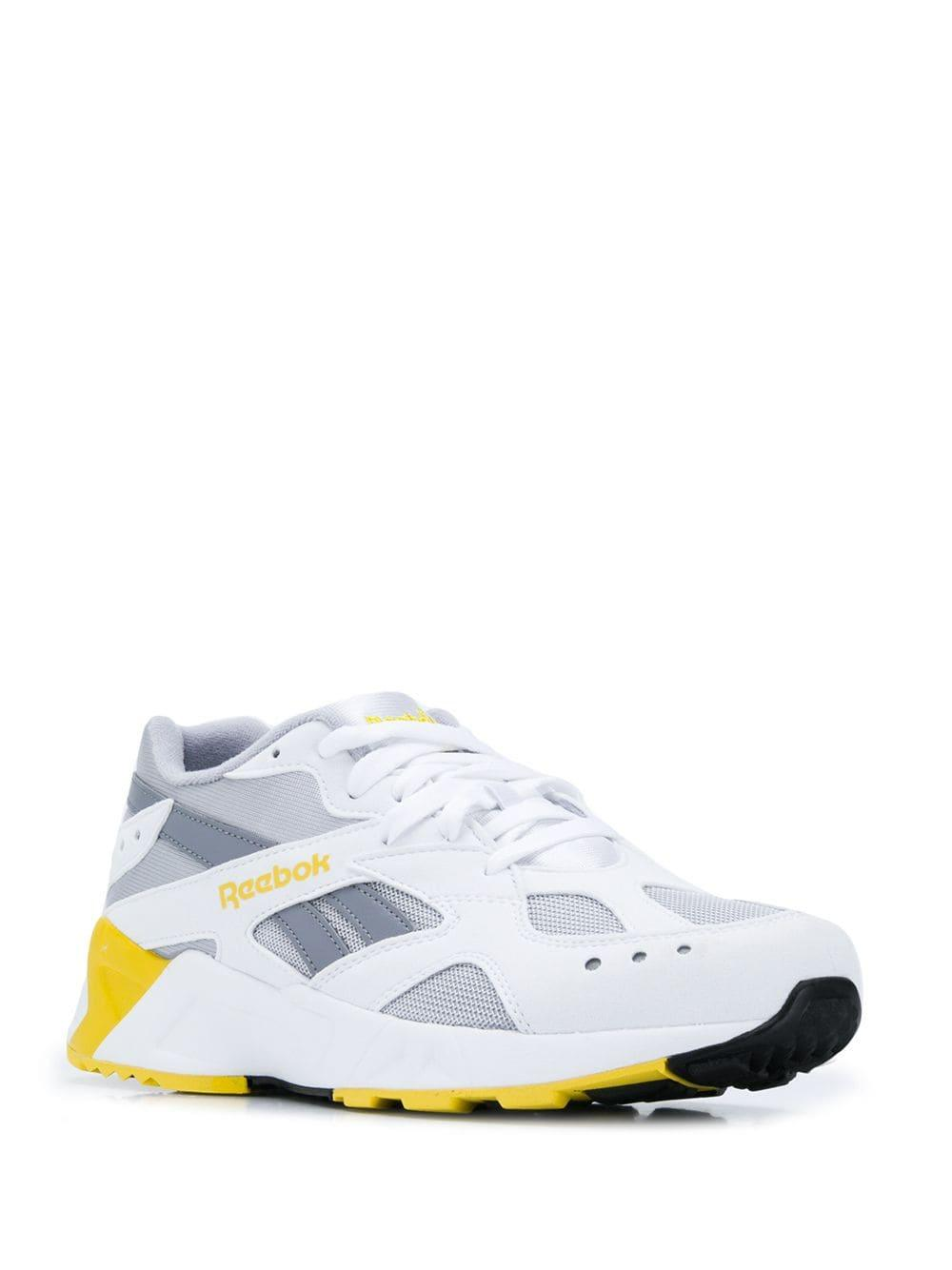 Reebok - White Aztrek Trainers for Men - Lyst. View fullscreen 4fda18780