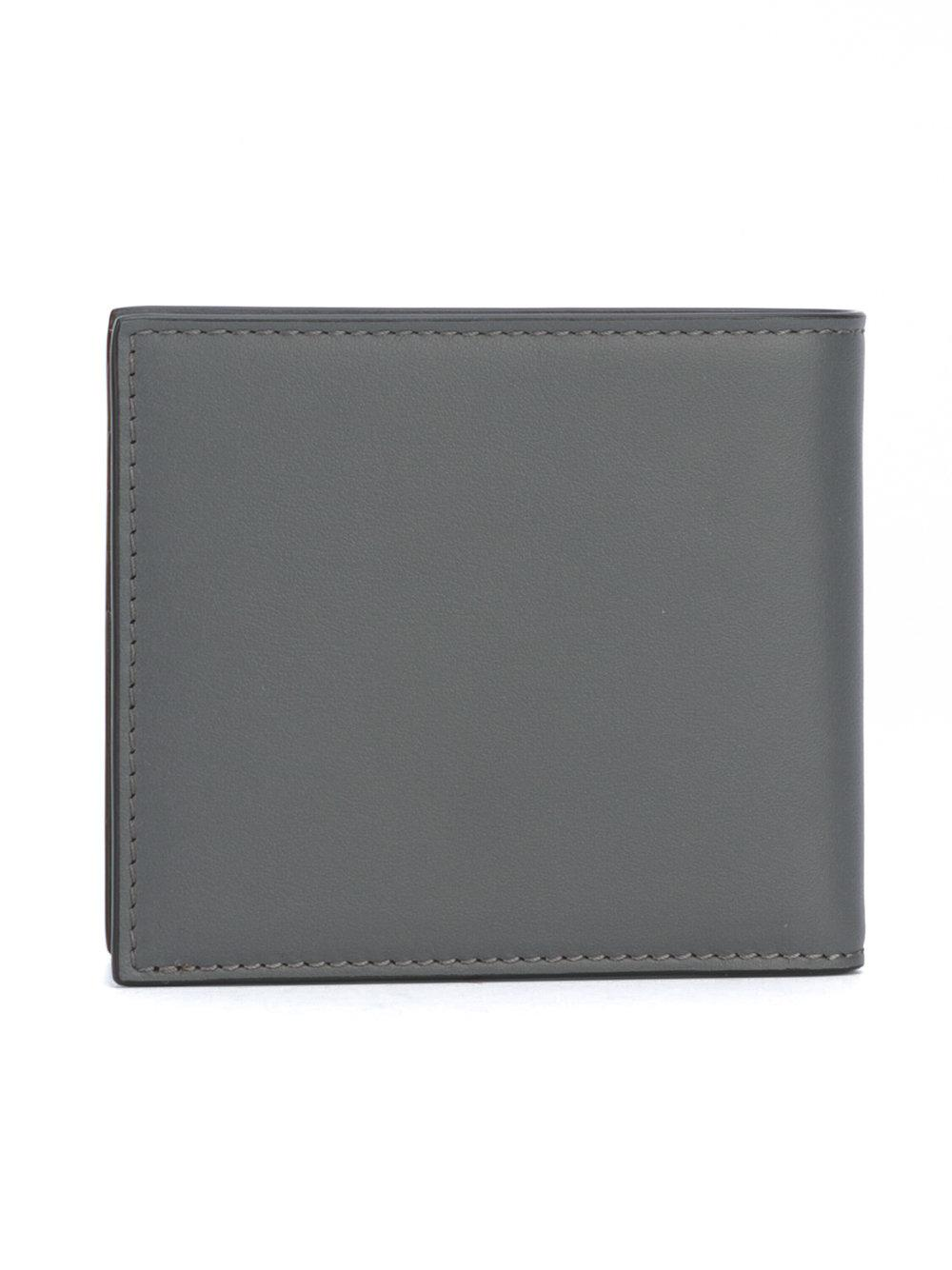 62ae9c138bfb Lyst - Fendi Selleria Wallet in Gray for Men