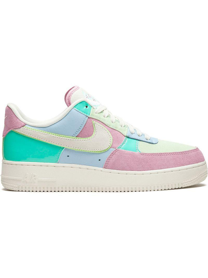 Nike Air Force 1  07 Sneakers in Blue for Men - Lyst 49bfd906e