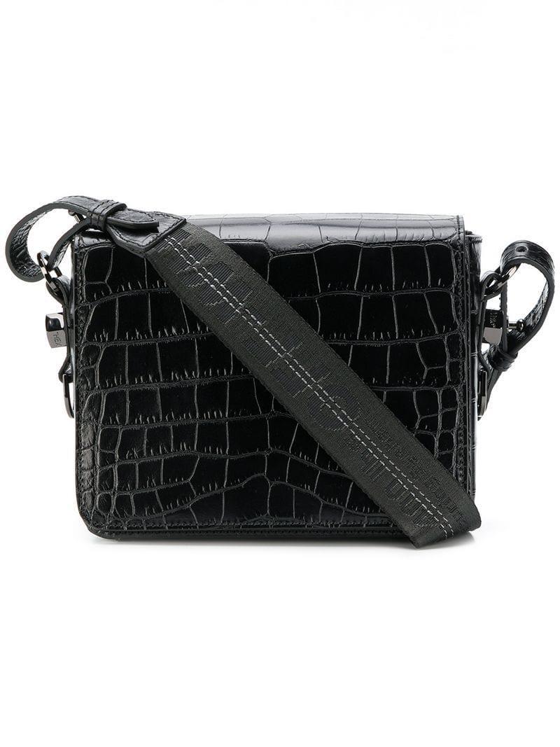 9747c432577e0 Lyst - Off-White c o Virgil Abloh Embossed Crossbody Bag in Black