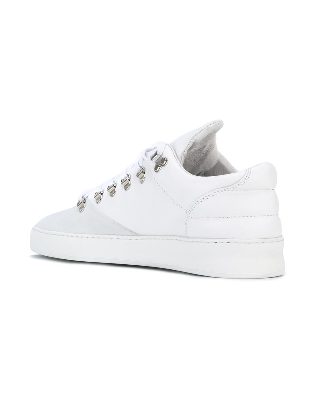 elongated tongue sneakers - White Filling Pieces MCIJ9l