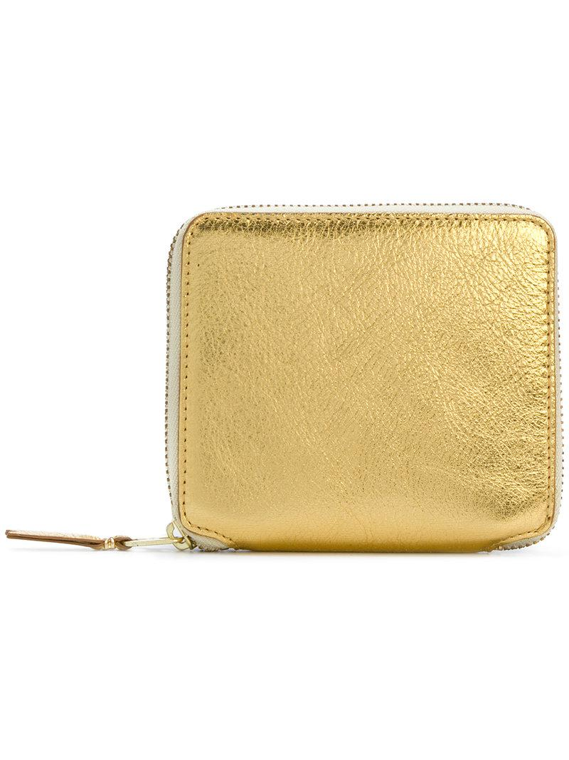 zipped coin purse - Metallic Comme Des Gar?ons mpo2znZ61Y