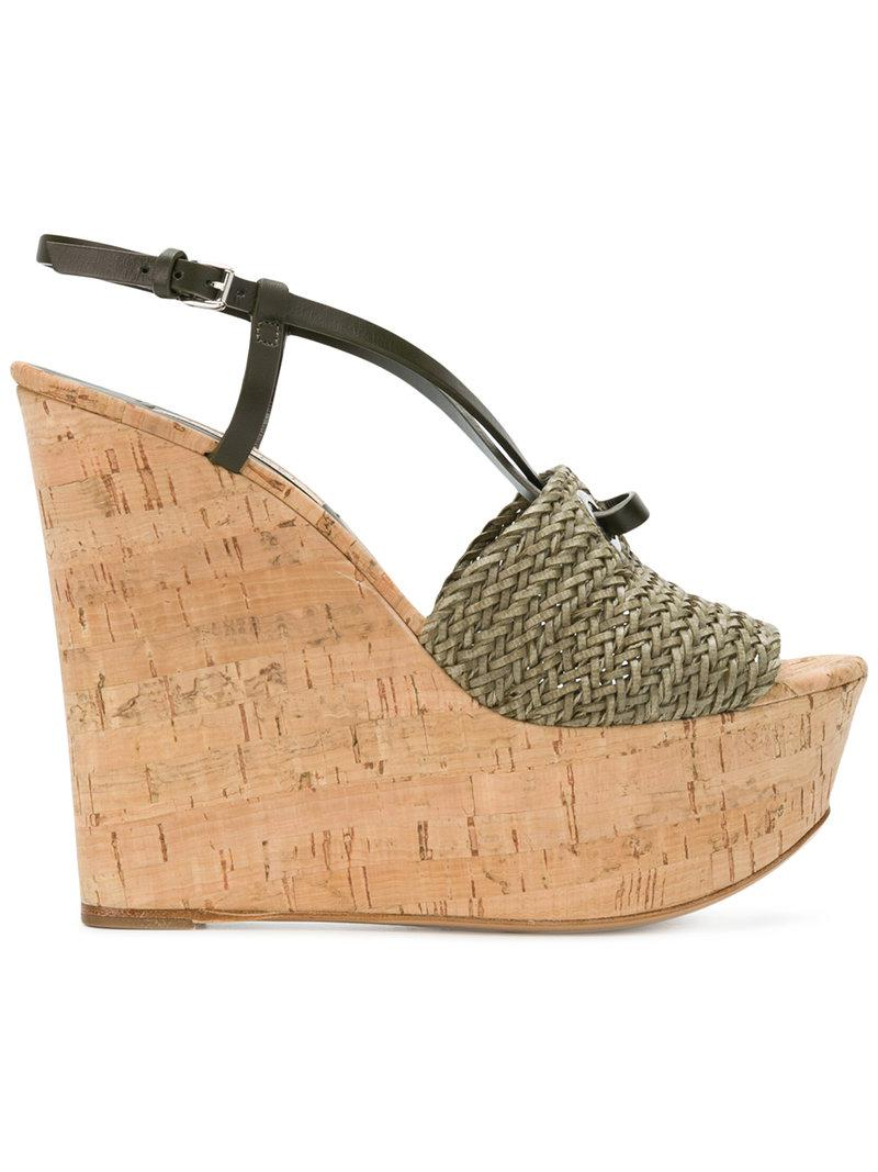 buy cheap outlet Casadei woven wedges outlet pictures Vy0qdW