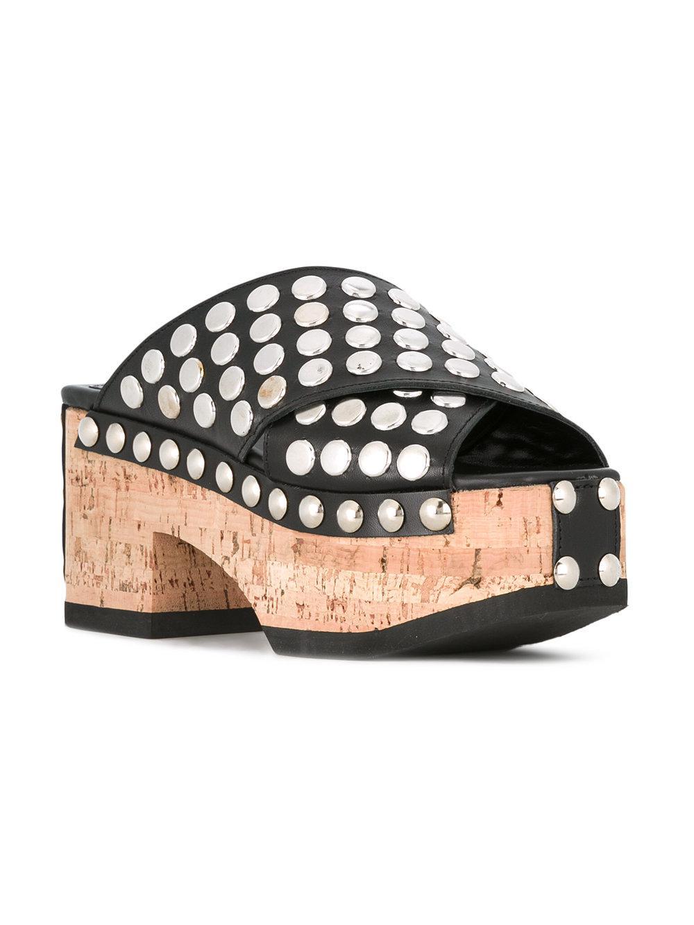 de93de02c489 Lyst - McQ Paloma Sandals in Black