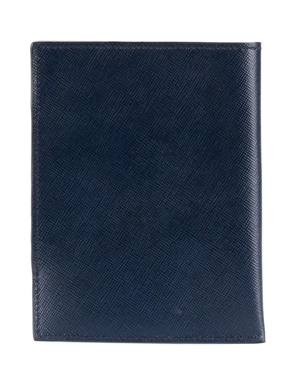 9542abd5a3f02 Prada Snap Fastening Wallet in Blue for Men - Lyst