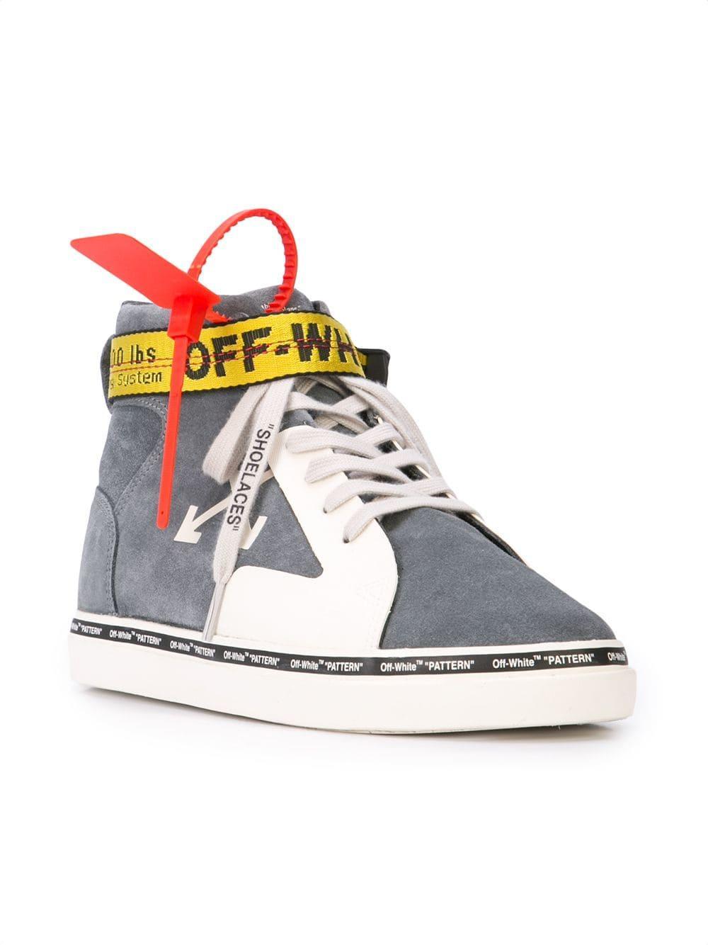 9245b442802869 Lyst - Off-White c/o Virgil Abloh Skater High-top Sneakers in Gray for Men