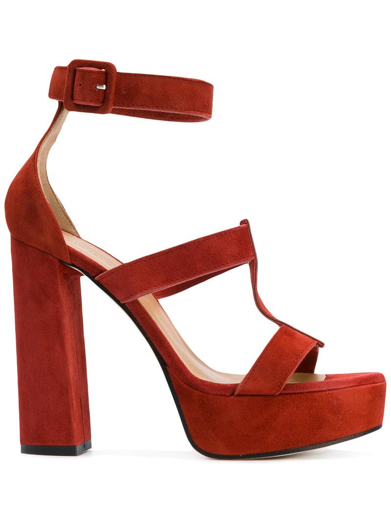 bicolour sandals - Red Marc Ellis WCUyf