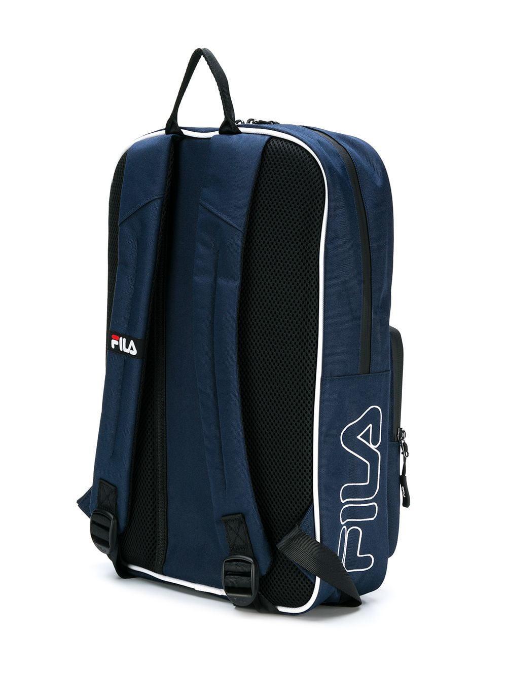 47e8042f3b Fila Contrast Logo Backpack in Blue - Lyst