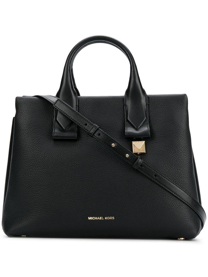 MICHAEL Michael Kors Rollins Tote Bag in Black - Save 27% - Lyst 4a20140577cdb